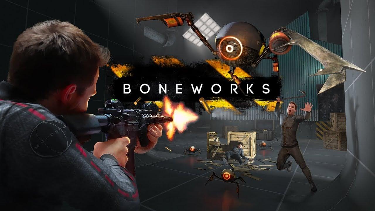 Boneworks vừa nhận bản cập nhật thêm bản đồ và lối chơi mới