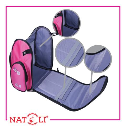 Chi tiết bên trong balo trẻ em chống gù Natoli