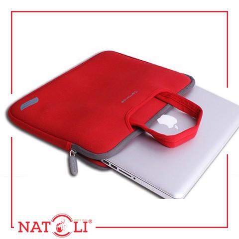 Bao chống sốc laptop màu đỏ