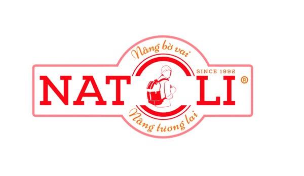 Logo Natoli cùng Slogan: Nâng bờ vai, nâng tương lai