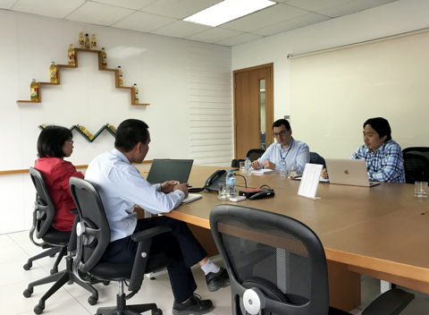 CHIEF REPRESENTATIVE OF ENDRESS+HAUSER VIETNAM VISITS WILMAR QUANG NINH