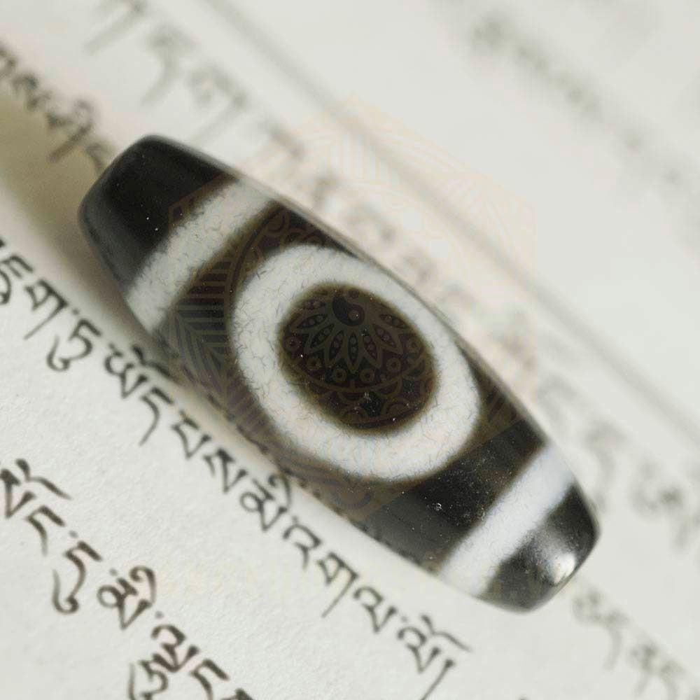 Ý nghĩa đá Dzi 1 Mắt - Năng Lượng Sống