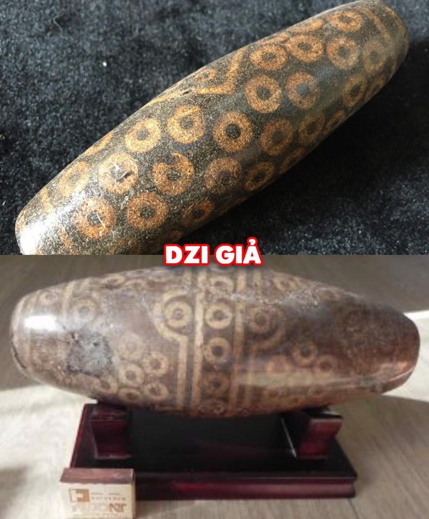 đá Dzi giả