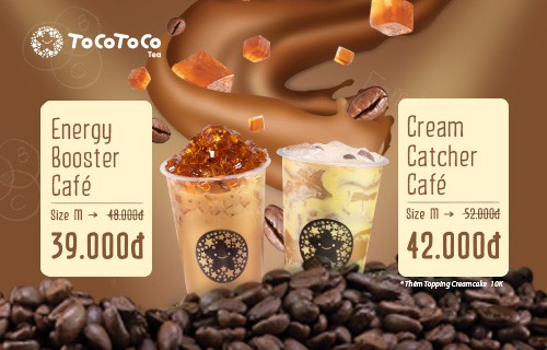 ENERGY= MILK COFFEE TOPPING - COMBO 2 LY GIẢM 25%