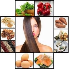 WHAT SHOULD YOU EAT TO HAVE A HEALTHY HAIR?