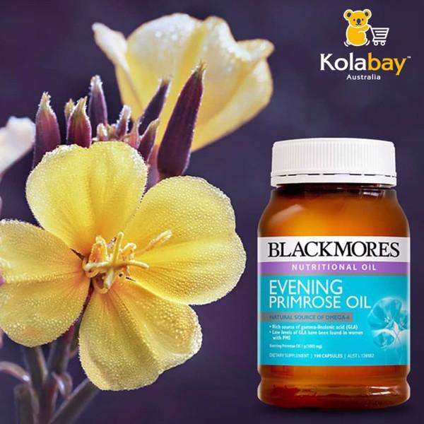 Công dụng Viên uống tinh dầu hoa anh thảo Blackmores Evening Primrose Oil 190 capsules
