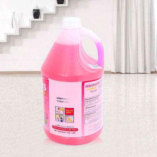 Nước-lau-sàn-Seasons-Flour-Cleaner-(3,8l,-hồng)