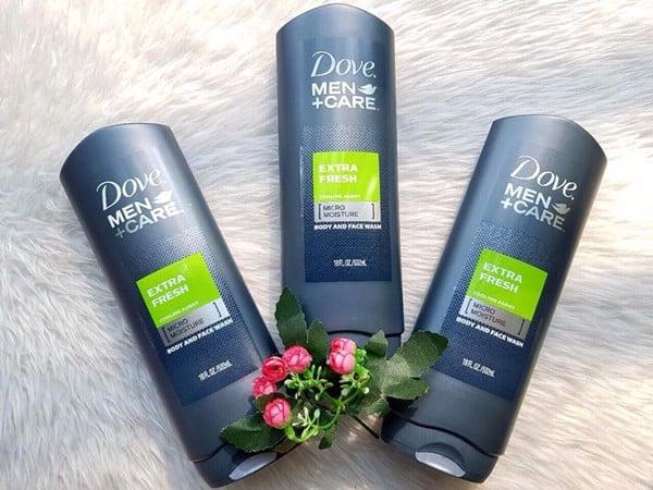 Sữa-tắm-và-rửa-mặt-2in1-Dove-Extra-Fresh-(532ml)