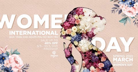 HAPPY WOMEN'S DAY 8/3 NUGANIC SALE UP TO 40% OFF
