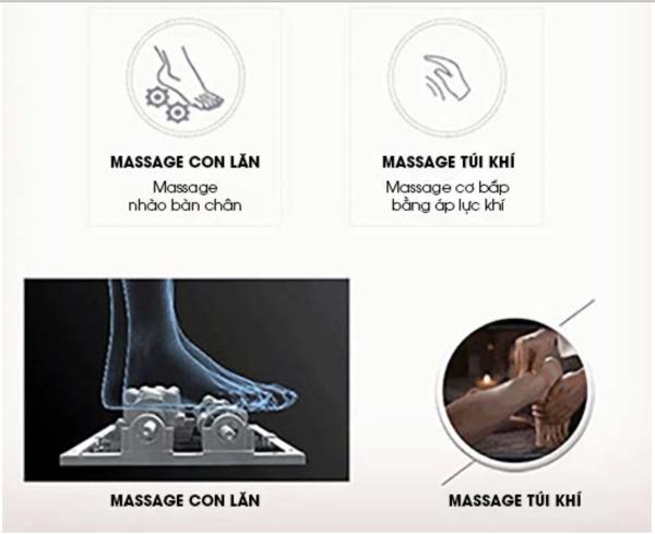Massage chân chuyên sâu