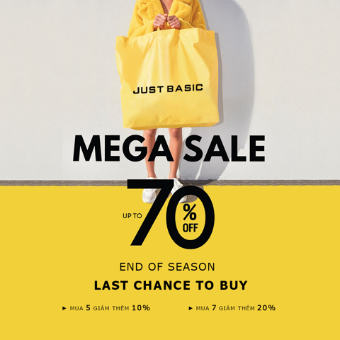 END OF SEASON - MEGA SALE UPTO 70%