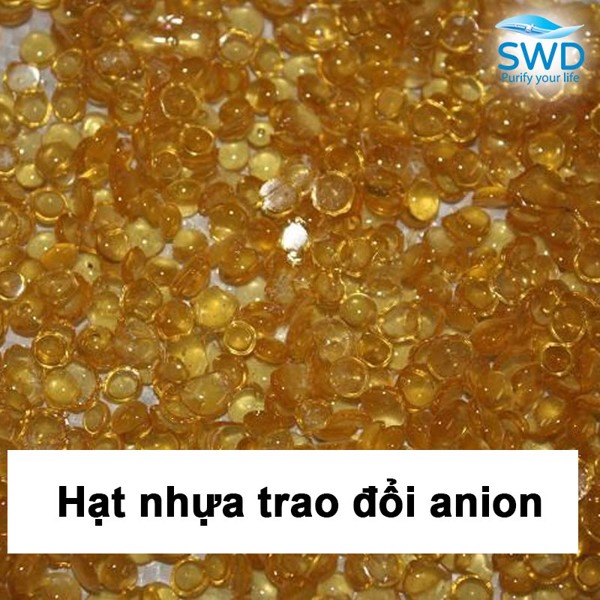 Hạt nhựa trao đổi ion anion bazo mạnh