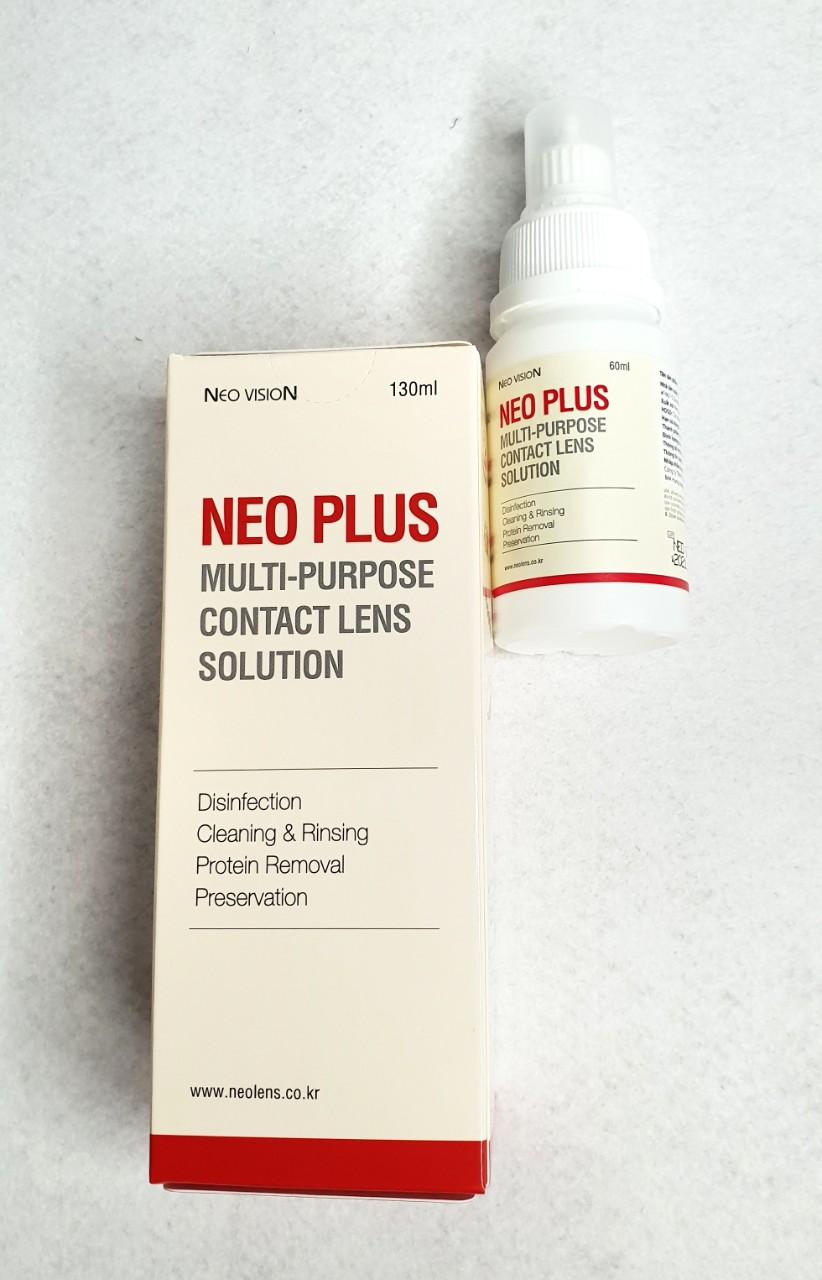Nước Ngâm Lens Mắt Hàn Quốc Neo Plus 130ml