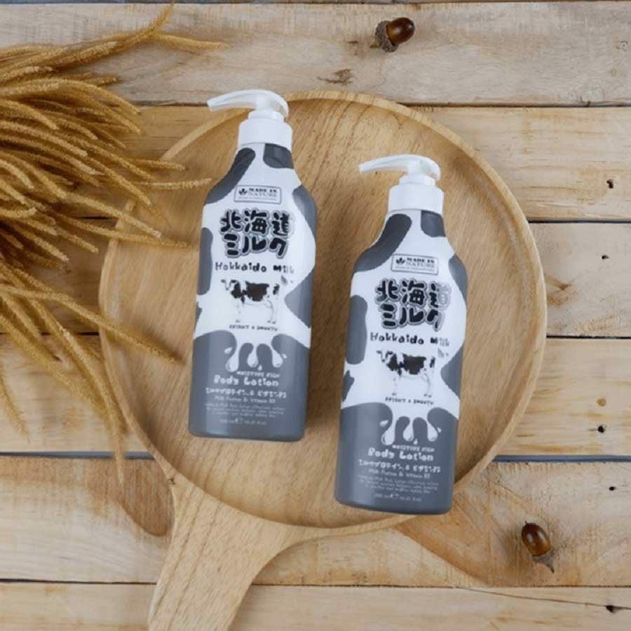 dưỡng thể Hokkaido dưỡng ẩm
