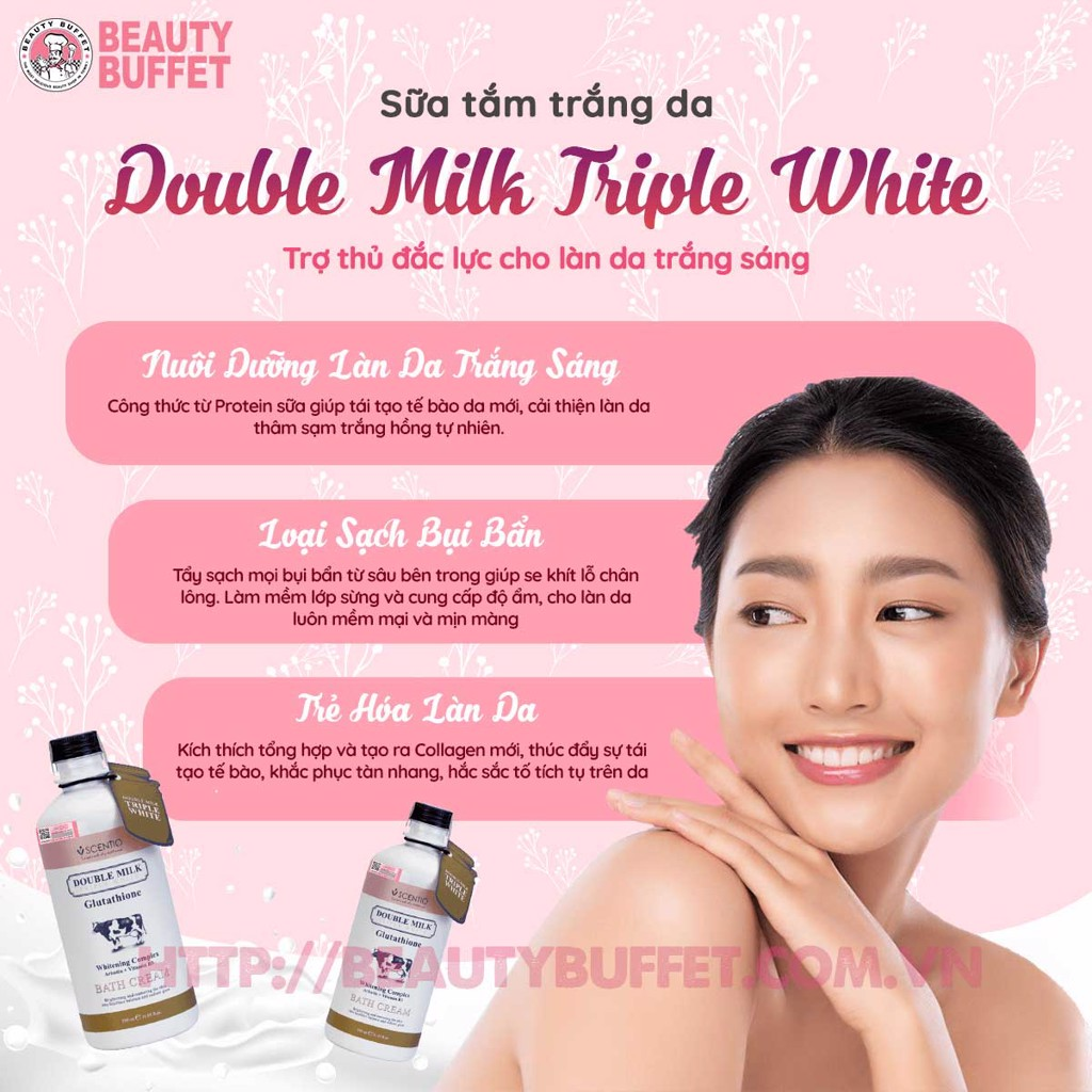 Sữa tắm trắng da
