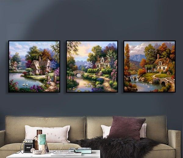 3 bức tranh đẹp