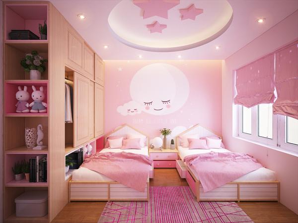 tranh phòng ngủ của con