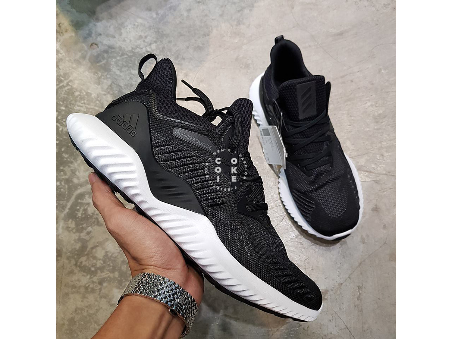 Giày adidas Alphabounce Beyond Core Black Core Black-Cloud White