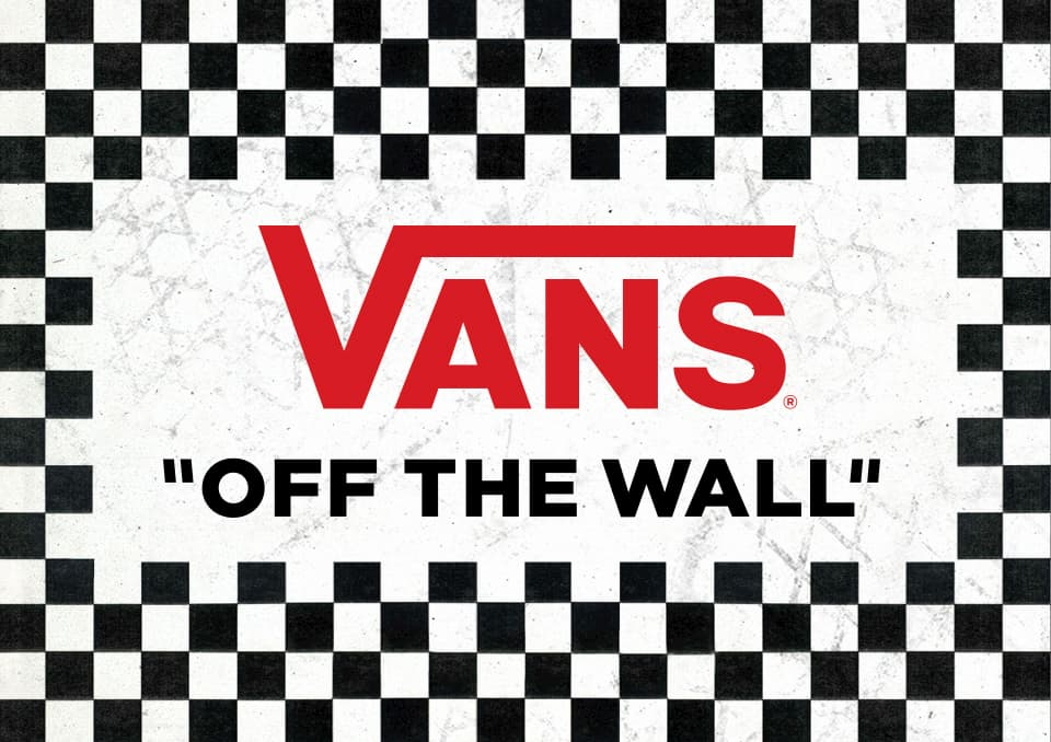 LOGO VANS OFF THE WALL