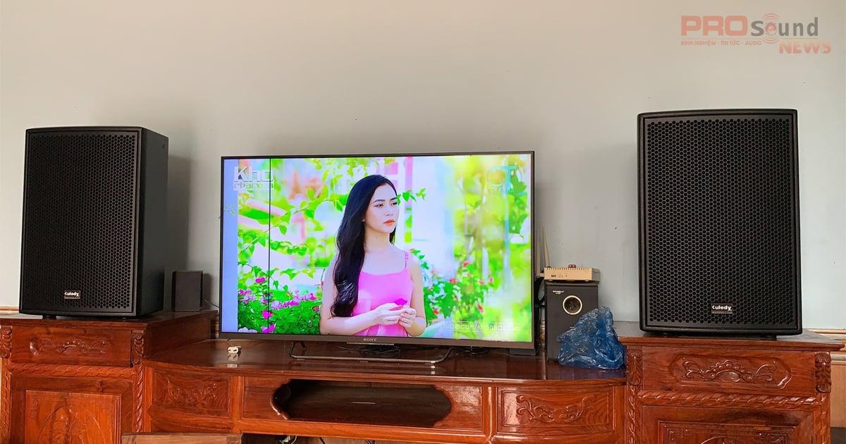 Dàn karaoke Kuledy gia đình chất lượng cho anh chủ ở Bắc Giang