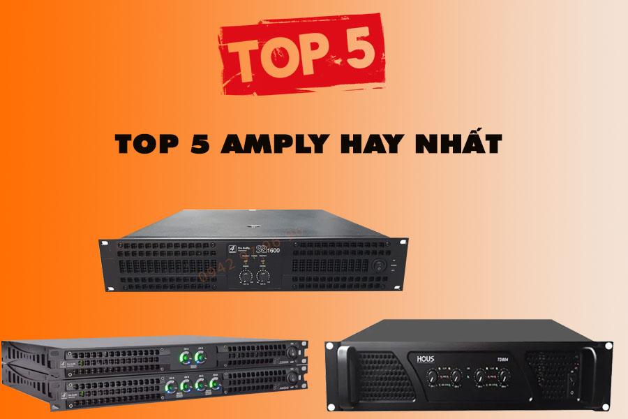 Top 5 Amply Hay Nhất Tháng 5 2021 Dành Cho Hát Karaoke, Nghe Nhạc