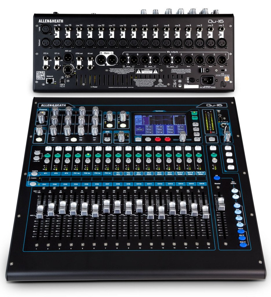 Bàn Mixer Allen & Heath QU16
