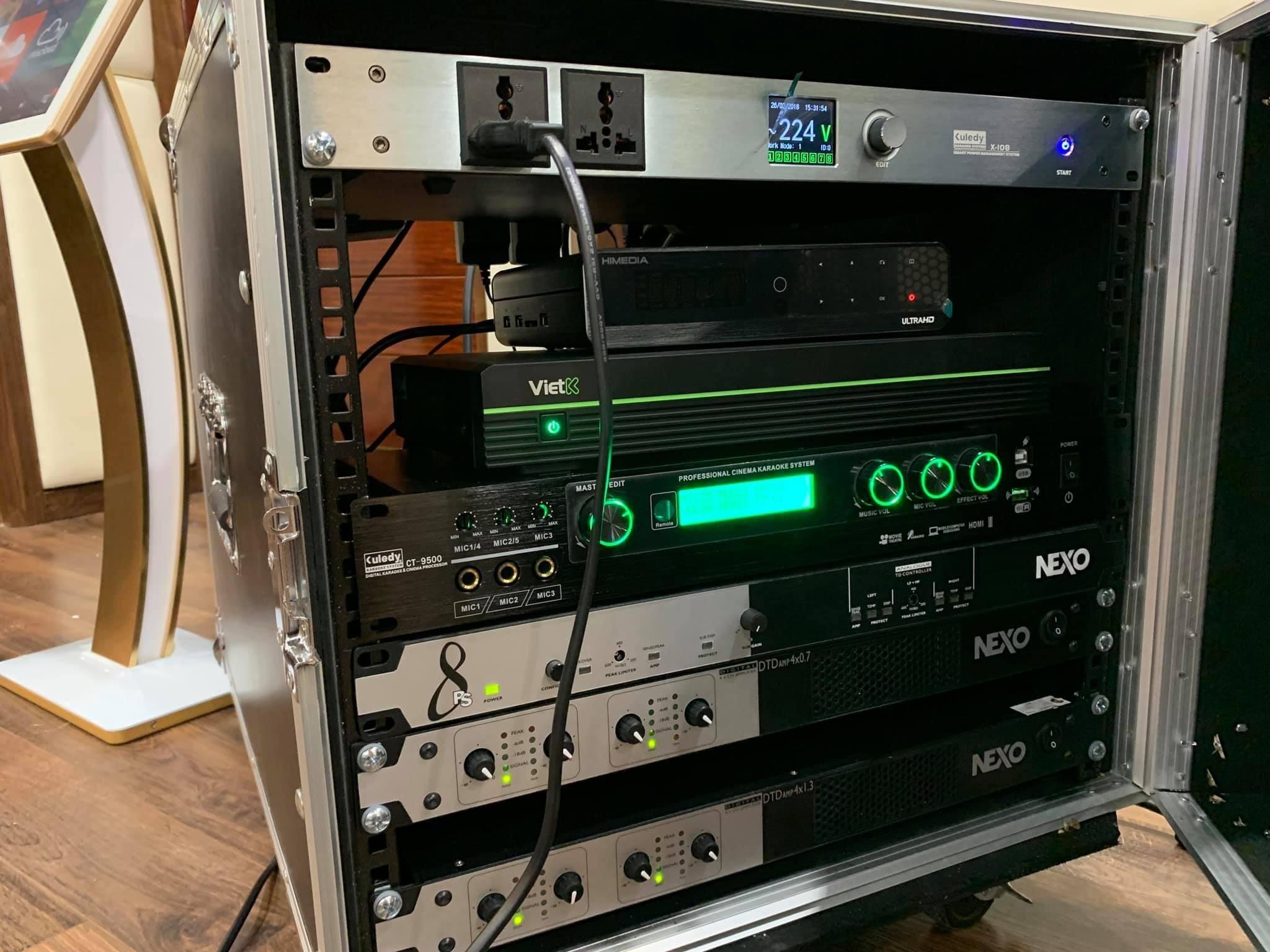 Amplifier Nexo 4x1.3