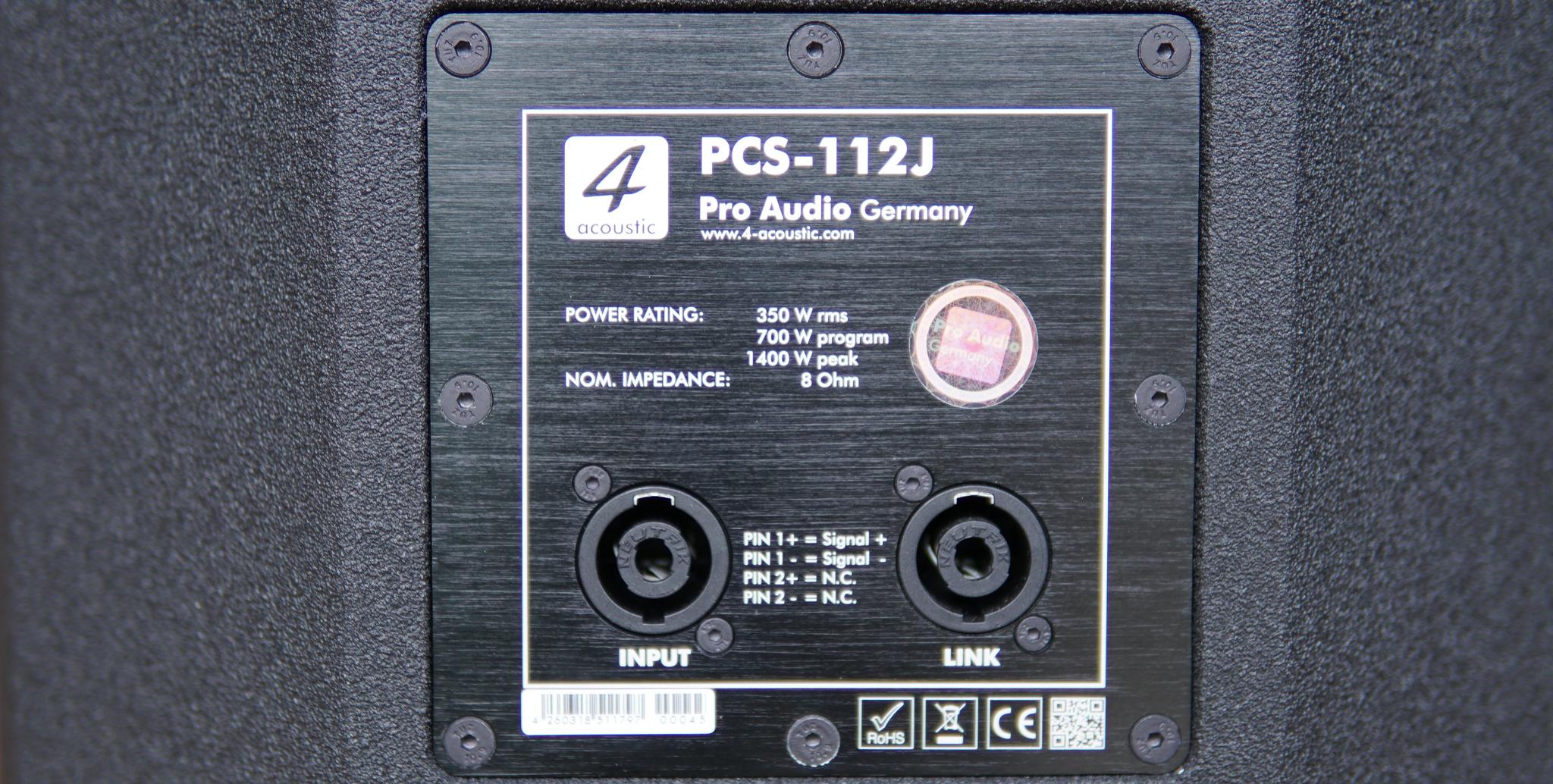 Loa PCS 112J