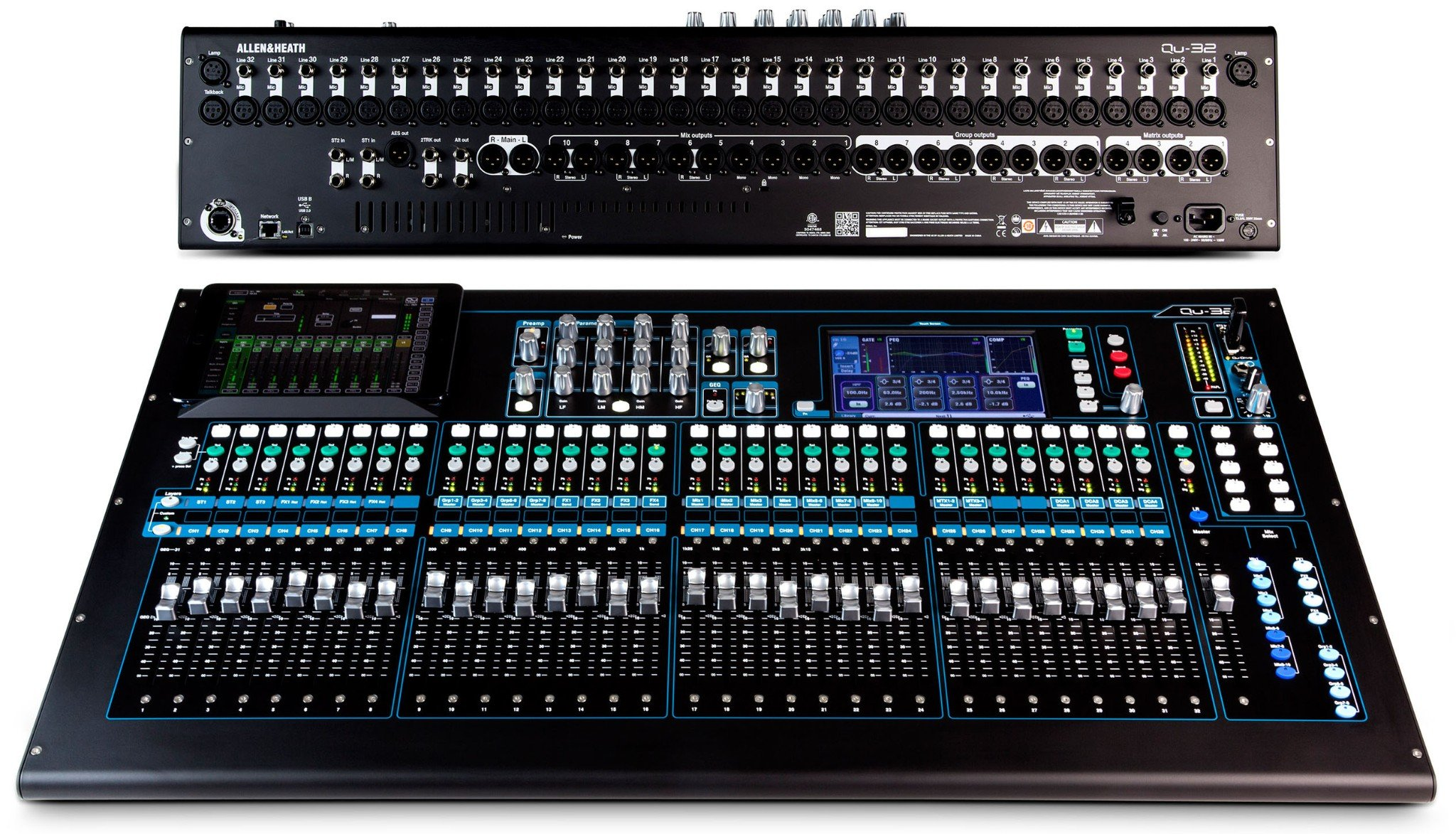 Bàn Mixer Allen & Heath QU32