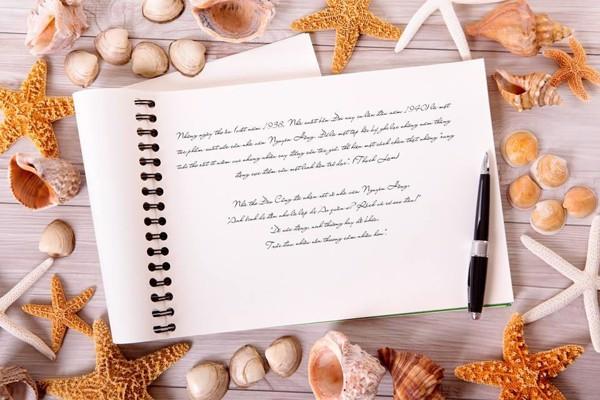 Cách ghi chép sổ tay