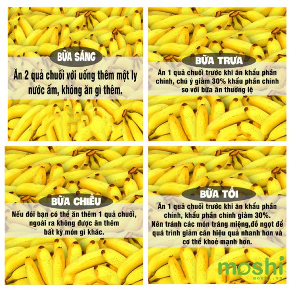 Ăn chuối giảm 2kg/tuần nếu áp dụng đúng cách