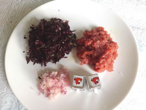 bột thịt rau dền