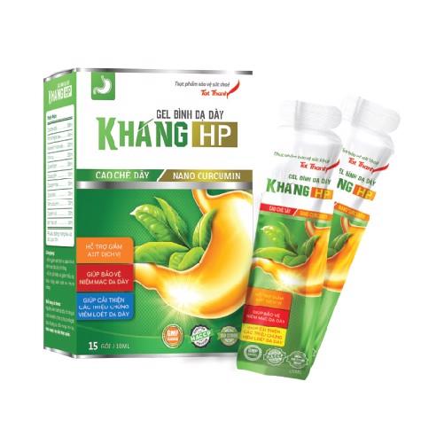 Thông báo sản phẩm mới Thực phẩm bảo vệ sức khỏe Gel Bình dạ dày KHANGHP
