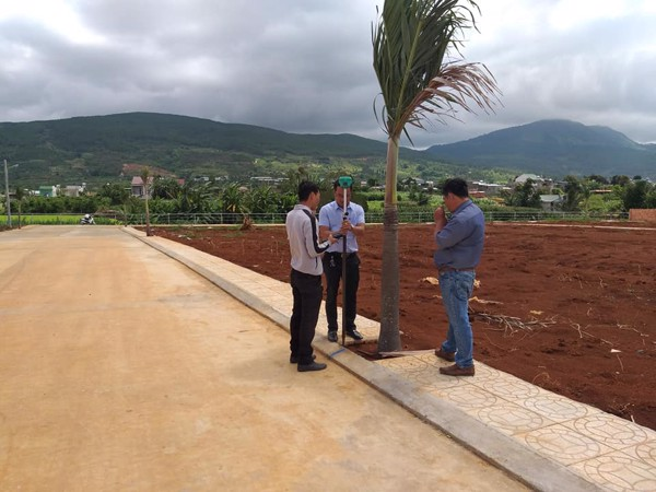 chuyển giao kỹ thuật sử dụng GPS RTK phục vụ cho công tác quy hoạch đất đai