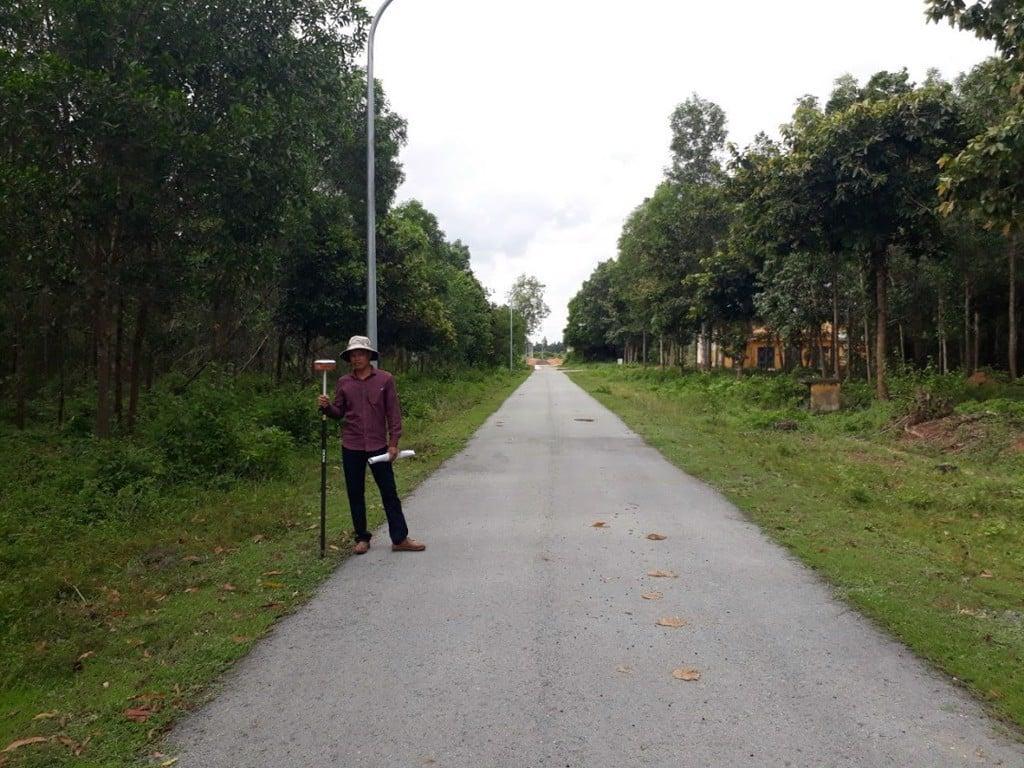 Đo khảo sát địa hình tại Nhơn Trạch