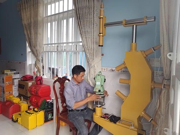 Hệ thống Collimator sửa chữa kiểm định