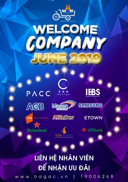 WELCOME COMPANY JUNE 2019