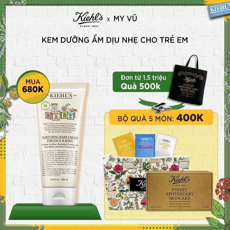 [HM] Kem Dưỡng Ẩm Cho Trẻ Em Nurturing Baby Cream for Face and Body