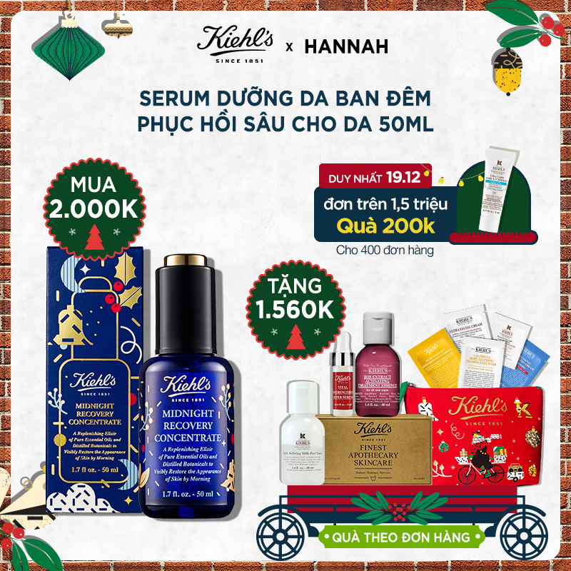 Hannah Set: TINH DẦU MIDNIGHT RECOVERY CONCENTRATE 50ML