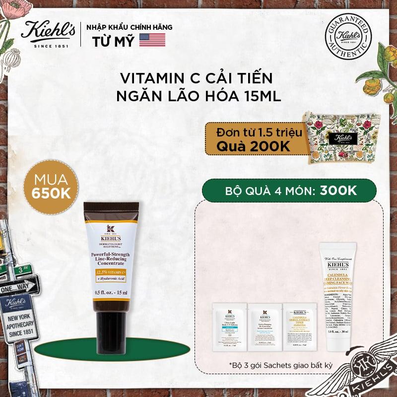 Serum Vitamin C Cải Tiến Powerful-Strength Line-Reducing Concentrate