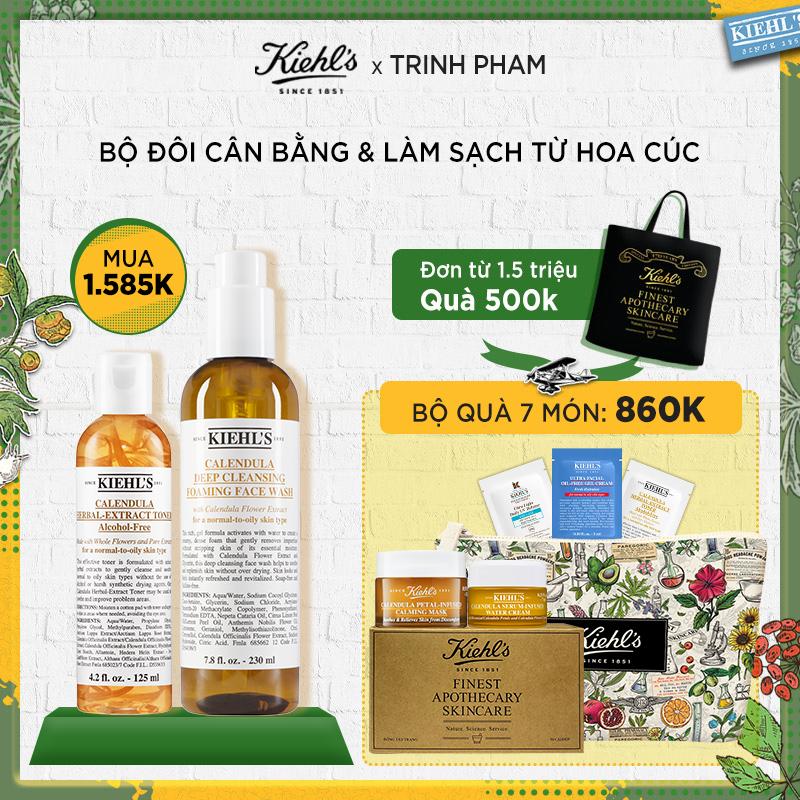 [TP] Bộ Cân Bằng Và Làm Sạch Từ Hoa Cúc 125ml