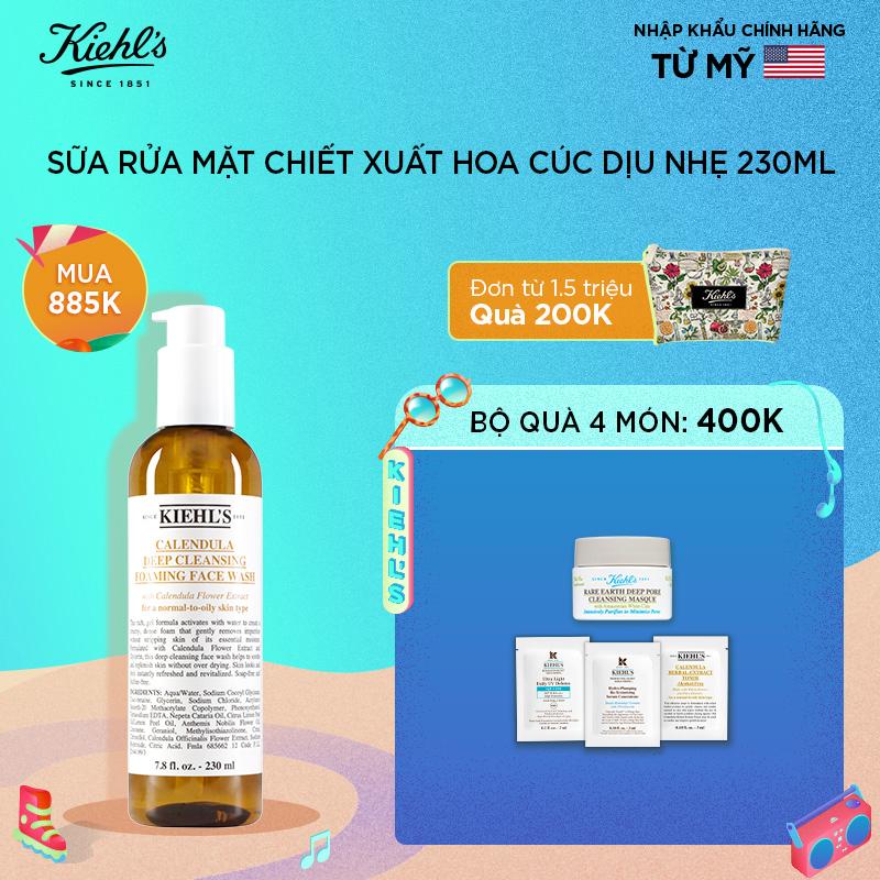 [summer] Bộ Sữa Rửa Mặt Hoa Cúc 230ml