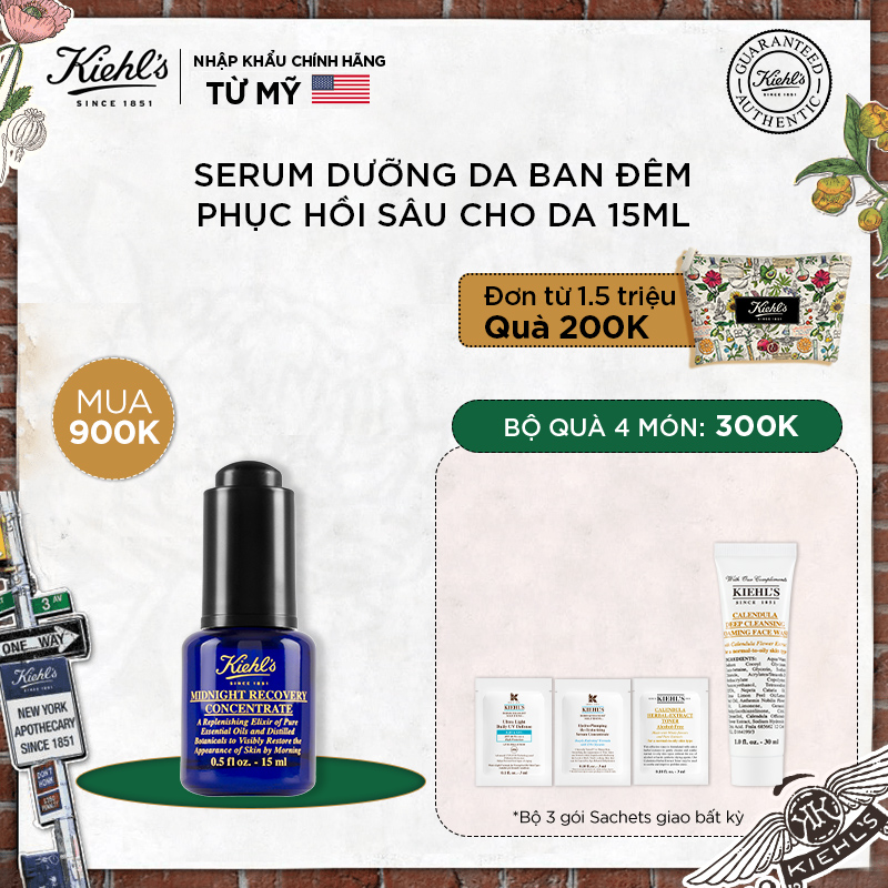 Tinh Dầu Midnight Recovery Concentrate 15ml