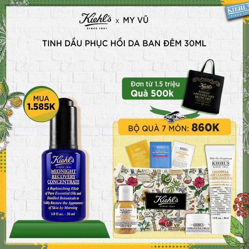 [HM] Tinh Dầu Midnight Recovery Concentrate 30ml
