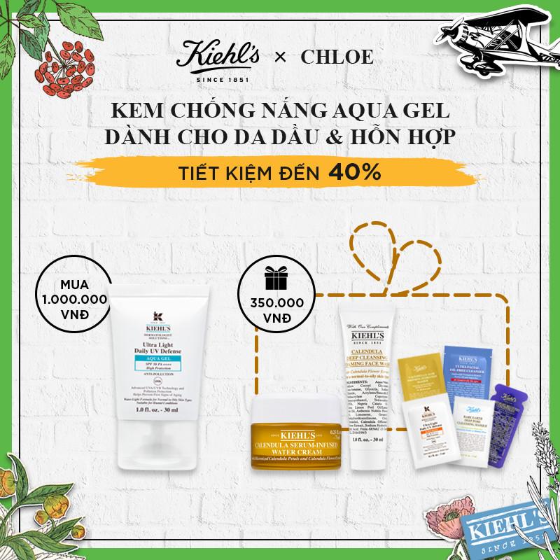 Chloe Set - Kem Chống Nắng Aqua Gel Dành Cho Da Dầu & Hỗn Hợp