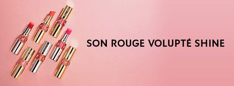 Son Rouge Volupté Shine   YSL