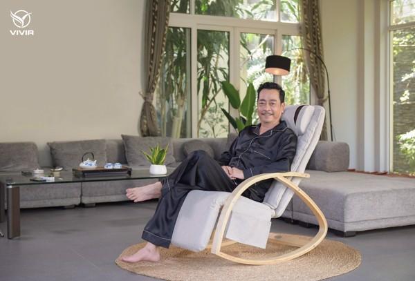 Ghế massage Vivir-Ghế ông trùm Hoàng Dũng