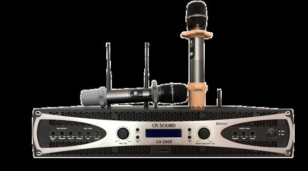 Amply liền micro Casound CA-2400 cao cấp