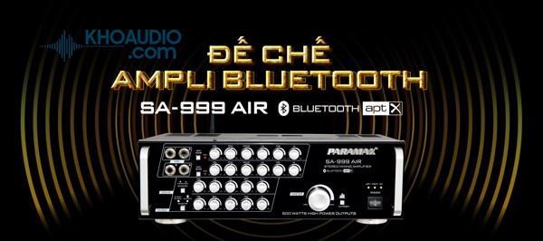 Ampli karaoke Paramax SA-999 AIR cao cấp