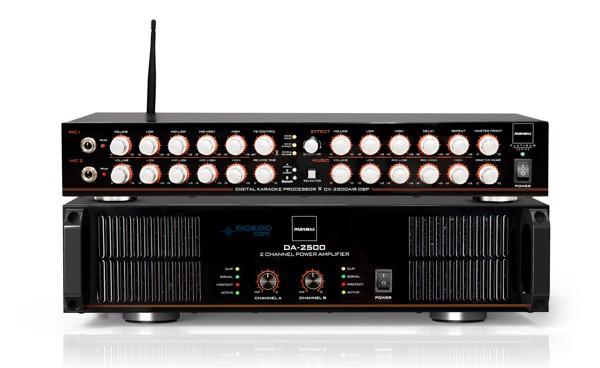 Amply Paramax DA-2500 chính hãng